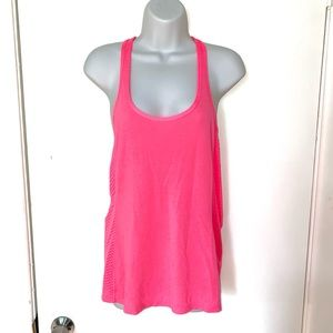 ✨ Under Armour ✨ Neon Pink Racerback Athletic Tank